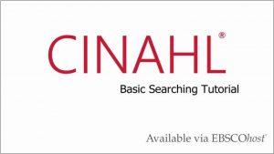 tutorial-cinahl